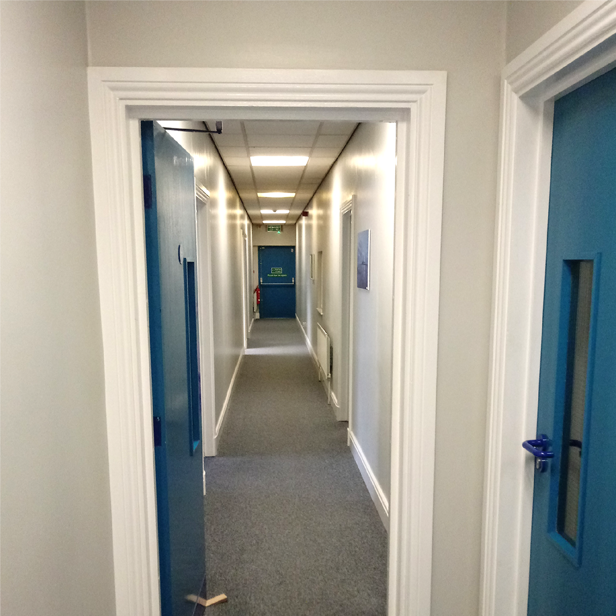 Full office refurbishment including acoustic glass walls