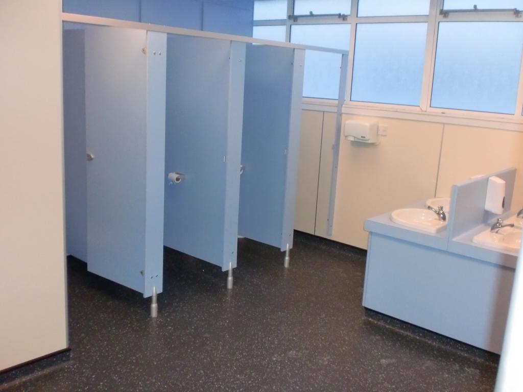 Changing Room, Locker Room & Washroom Refurbishments